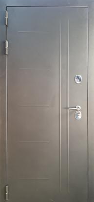Изображение Дверь ДК Термо-Люкс Белый снег (терморазрыв)