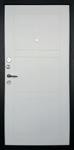 Изображение Дверь ДК Тепло-Макс Белое дерево