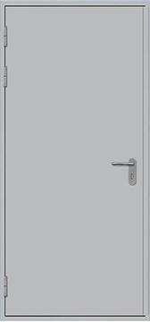Изображение Дверь противопожарная L100 глухая 1000x1900