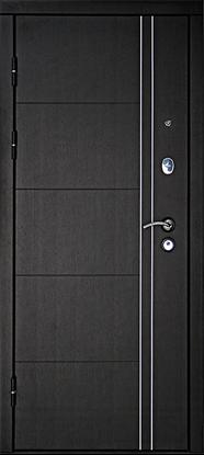 Изображение Дверь ДК Тепло-Люкс Венге