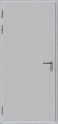 Изображение Дверь противопожарная L100 глухая 1100x2100