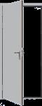 Изображение Дверь противопожарная L100 глухая 700х2100