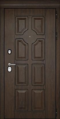 Изображение Дверь ДК Милан Темный орех